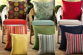 Patio Chairs With Cushions Interesting Patio Furniture Cushion Complete Replacement With