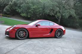 fs 2015 cayman gts carmine red 67 000 norcal rennlist