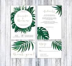 tropical wedding invitations wedding invitation template tropical wedding invitation mexico