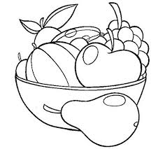 fruits and vegetables coloring pages crafts and worksheets for