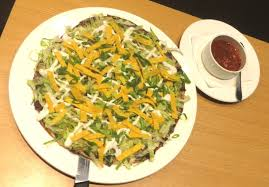 California Pizza Kitchen Tostada Pizza Cpk That Thin Crust Pizzas Brownie Mango Drink Acemat