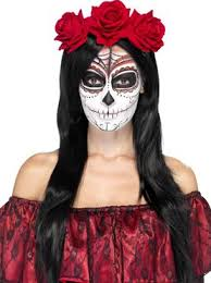 day of the dead costume day of the dead headband 27744 fancy dress
