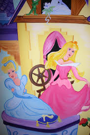 childrens wall murals the muralist kids custom art wall murals disney princesses