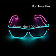 neon party supplies hot sales color transparent blue pink el wire glowing