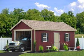 Single Car Garages by One Car Garage Single Garages From Sheds Unlimited Ifmore