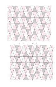 triangle quilt pattern update how to get sharp triangles see