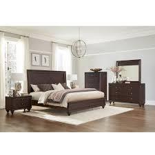 espresso queen bedroom set bedroom set bfg kingston lastman s bad boy