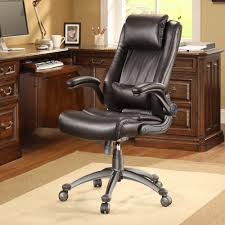 Fold Up Desk Chair Whalen Flip Up Arm Leather Office Chair Amazon Co Uk Kitchen U0026 Home