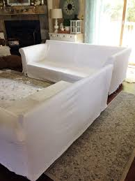 How To Make Slipcovers For Couches How To Make A Sectional Slipcover Confessions Of A Serial Do It