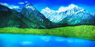 picture backdrops swiss alps scenic stage backdrop rental theatreworld