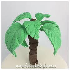 fondant palm tree cake topper amelie palm
