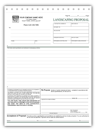 Landscaping Invoice Template by Landscaping Starter Kit Directory