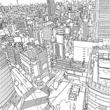 fantastic cities coloring booka coloring book of amazing