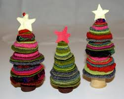diy felt christmas tree ornaments inspiration home design 2016