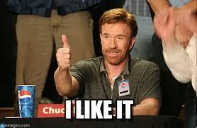 I Like It Meme - i like it chuck norris approves meme on memegen