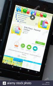 kids place parental control shown on a tablet computer dorset