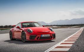 red porsche 911 2018 porsche 911 gt3 guards red wallpapers hd wallpapers