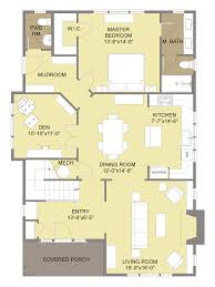 Small Bungalow Style House Plans Floor Plan Of A Bungalow Ahscgs Com