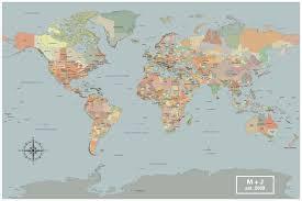 World Map Wall Decor Large World Map Wall Art Set Of 4 Push Pin Maps With Pins