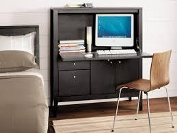 Flat Computer Desk Furniture Office Armoire Armoire Office Desk Laptop Armoire