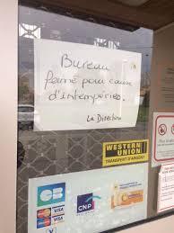 bureau de poste ouvert la nuit intempéries la poste reste fermée actu fr