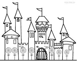 candyland castle printable candyland coloring pages for kids cool2bkids