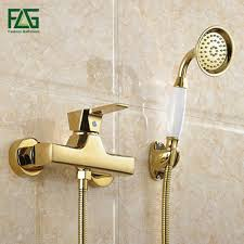 closeout flg wall mounted antique brass brushed gold plated