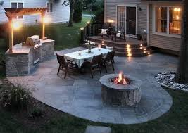 Rear Patio Designs Would Be An Awesome Back Yard Mike You Need A Bbq With Loads Of
