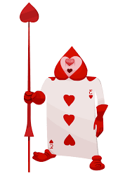 Queen Of Hearts Soldier Card Google Search Punch Art