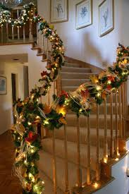 555 best christmas stair decor images on pinterest stairs