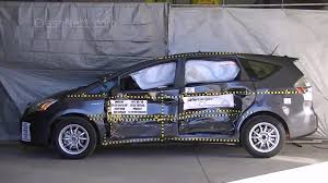 toyota prius v safety rating 2013 toyota prius v documentation for side crash test nhtsa