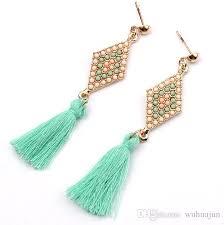 stylish earrings 2018 european boutique earrings women colors earrings new
