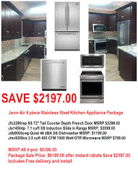 Stainless Steel Kitchen Appliance Package Deals - appliance kitchen appliance suite sale best stainless steel
