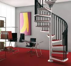 following the latest trend interior design with stair railing