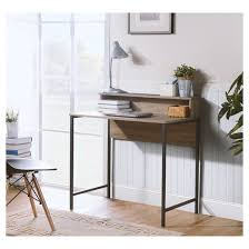 titania computer desk with hutch reclaimed wood homestar target