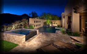 Small Backyard Landscaping Ideas Arizona by Before Phoenix Landscaping Design U0026 Phoenix Pool Builders Of