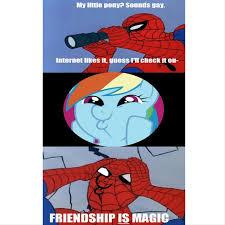 Funny Pony Memes - my little pony spider man meme little best of the funny meme