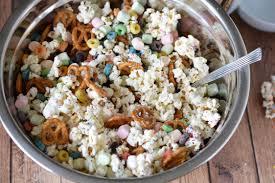 rainbow flavored popcorn party mix teaspoon of goodness