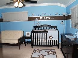 baby nursery decor blue colored animal theme wallpaper baby boy