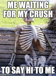 Hi Memes - waiting skeleton meme imgflip
