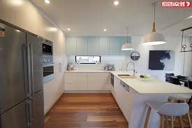 nsw team new ultra modern kitchen on house rules