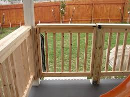 spectacular wood deck gates for garden gate
