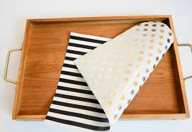 sided wrapping paper nav k brar diy sided tray liner by kate spade
