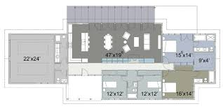 ranch style house plan 4 beds 3 50 baths 2618 sq ft plan 445 2