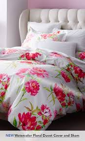 garnet hill duvet covers new watercolor floral duvet cover and