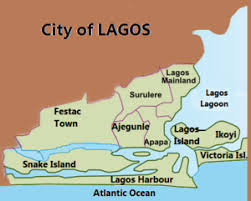 lagos city map lagos