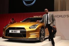 gold nissan car bolt gold u0027 gt r helps raise over 190k for charity video