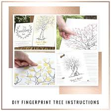 how to use a wedding fingerprint tree so you u0027ve decided to have a