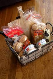 family gift baskets 32 gift basket ideas for men bagel basket