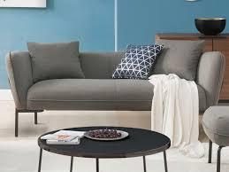 pieds canapé canapé 3 places fauteuil et pouf en tissu tapolca